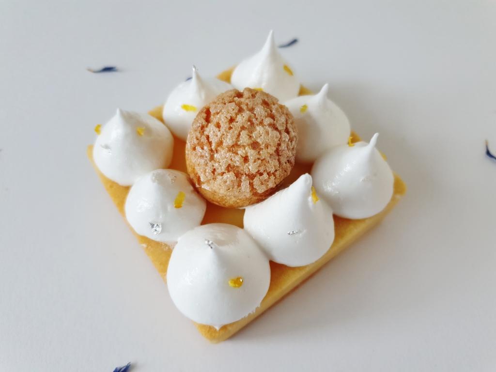 lemon meringue tartelette choux