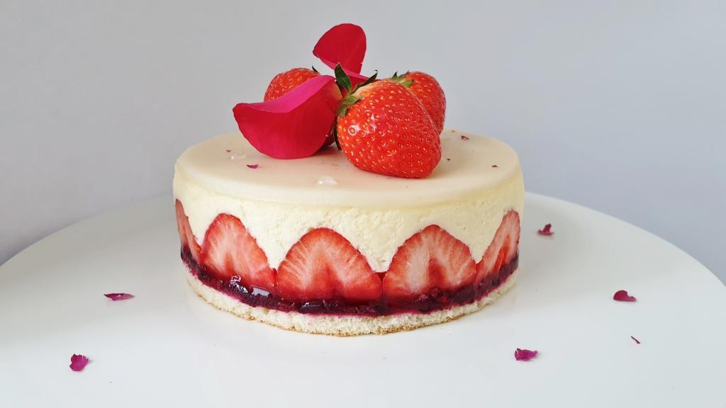 fraisier taartje